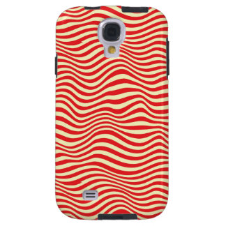 Striped background galaxy s4 case