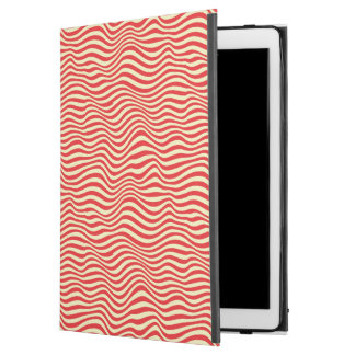"Striped background iPad pro 12.9"" case"