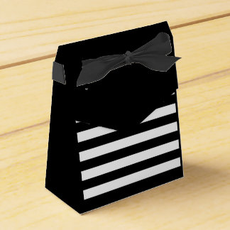 Striped bag favour box