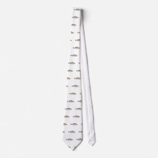 Striped Bass Art Tie