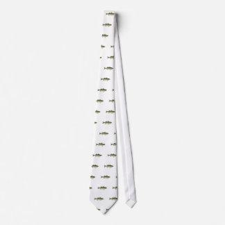 Striped Bass Logo Tie