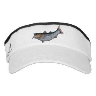 striped bass visor