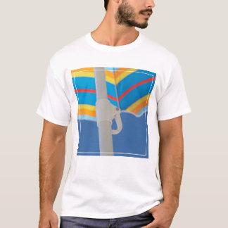 Striped Beach Umbrella T-Shirt