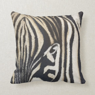 Striped Beauty Zebra Pillow