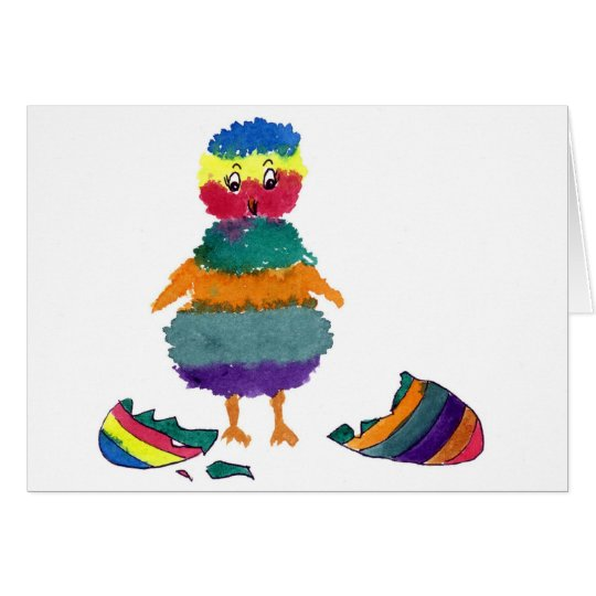 Striped Bitty Greeting Card
