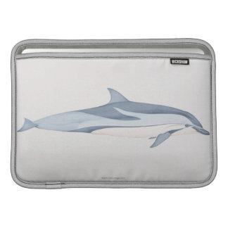 Striped Dolphin MacBook Sleeve