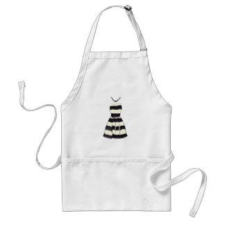 Striped Dress Standard Apron