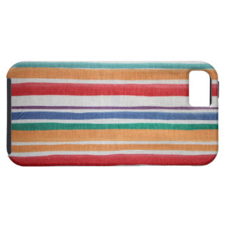 Striped fabric texture iPhone 5 case