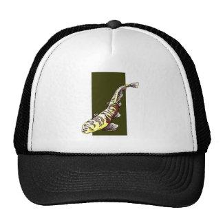 Striped Fish Trucker Hats