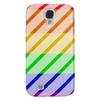Striped Gay Pride Flag Samsung Galaxy S4 Cases