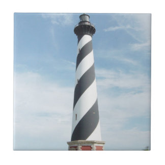 Striped Lighthouse Tile