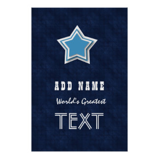 Striped Long Role and Star Name and Sentiment V002 Poster