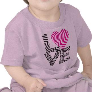 Striped Love T-shirt
