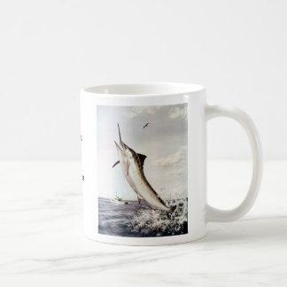 Striped Marlin Coffee Mug