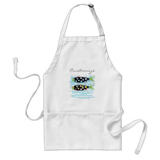 striped migrating fish any color Thunder_Cove Standard Apron