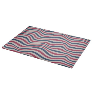Striped pattern 2 cutting board