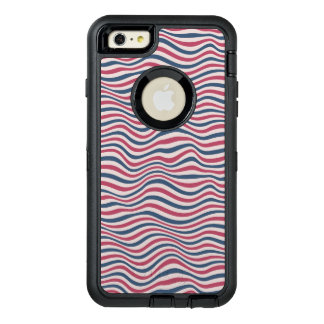 Striped pattern 2 OtterBox defender iPhone case