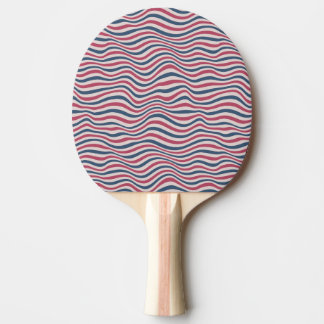 Striped pattern 2 ping pong paddle