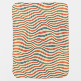 Striped pattern baby blanket