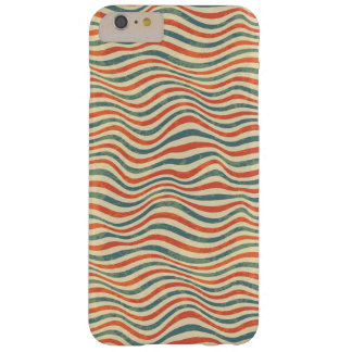Striped pattern barely there iPhone 6 plus case