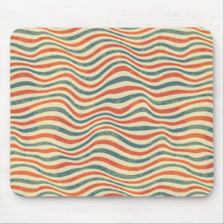 Striped pattern mouse pad