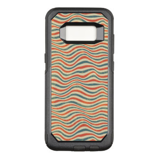 Striped pattern OtterBox commuter samsung galaxy s8 case
