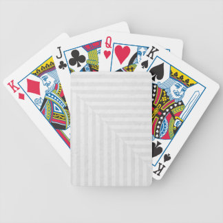 Striped pattern paper background bicycle playing cards