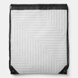 Striped pattern paper background drawstring bag
