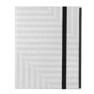 Striped pattern paper background iPad case