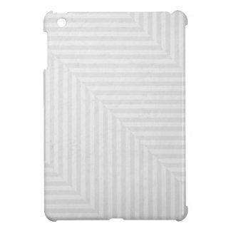 Striped pattern paper background iPad mini cases