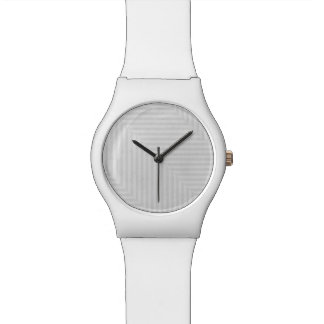 Striped pattern paper background watch