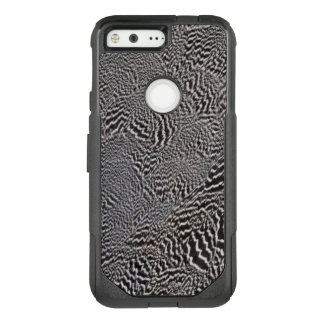 Striped Pheasant Feather Abstract OtterBox Commuter Google Pixel Case