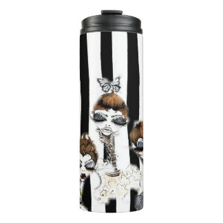 Striped Pixies Travel Cup