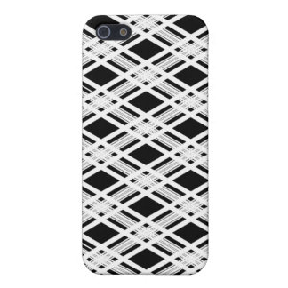 Striped Plaid Pattern iPhone 5/5S Cover