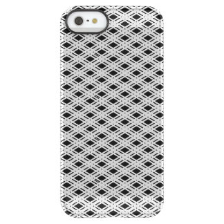 Striped Plaid Pattern Permafrost® iPhone SE/5/5s Case