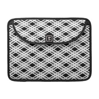 Striped Plaid Pattern Sleeves For MacBooks
