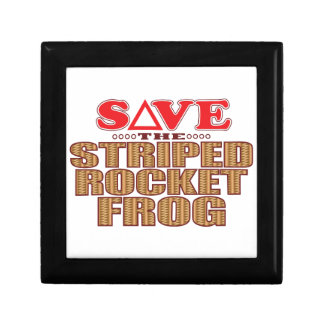 Striped Rocket Frog Save Gift Box