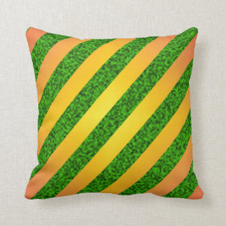 Striped seamless pattern cushion