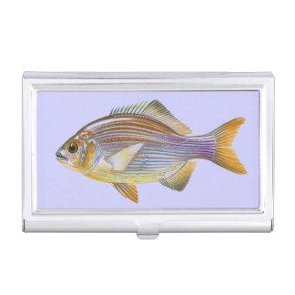 Striped Seaperch Business Card Holder