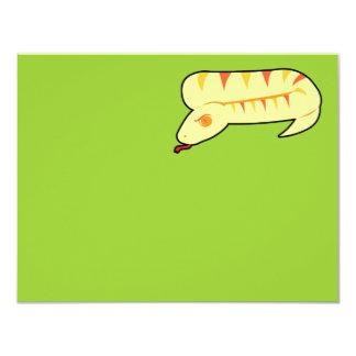 Striped Snake Card