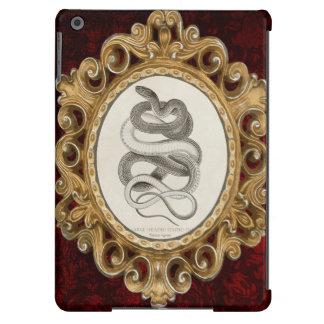 Striped Snake Vintage Illustration iPad Air Case