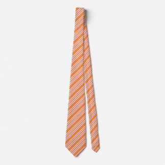 Striped Ties For Men | Orange Ties