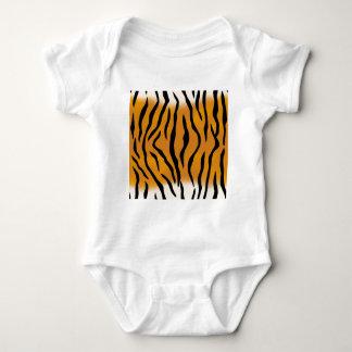 Striped Tiger Pattern Baby Bodysuit