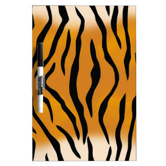 Striped Tiger Pattern Dry Erase Board