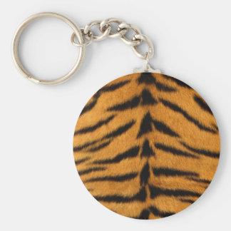 Striped Tiger Skin Key Chain