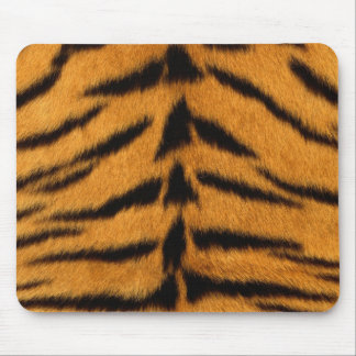 Striped Tiger Skin Mouse Pad
