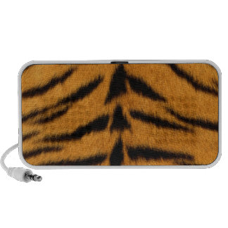 Striped Tiger Skin Travel Speakers