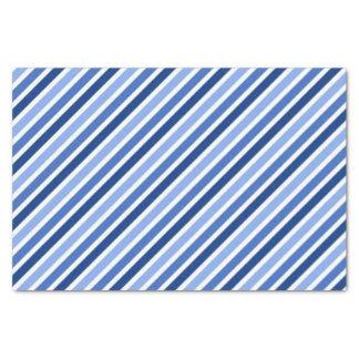 "Striped Tissue Paper:Blue And White Stripes 10"" X 15"" Tissue Paper"
