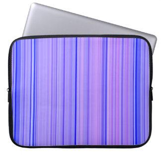 Striped Vertical Stripes Purple Laptop Sleeve