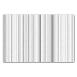 Striped Vertical Stripes White Gray Light Grey Tissue Paper